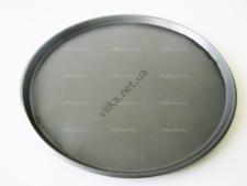 Форма тефлоновая для пиццы серая д. 31,5 см.