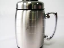 Чашка-термос нержавейка  420 мл.  Пивной бокал