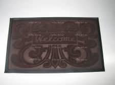 Коврик  Welcom 45 х 75 коричневый