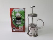 Чайник-заварник нерж Полоса 350 мл.