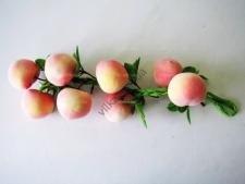 Композиция персики в связке из 8-ми - 52 см.