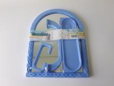 Зеркало арка + 3 аксессуара 450 х 350 mm.