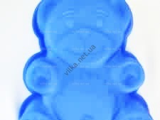 Форма силиконовая Мишка  18,5 х 16 х 4