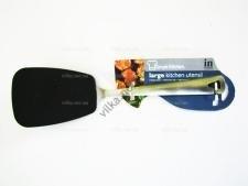 Тефлоновая лопатка с металлической ручкой 36 см. большая