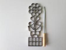 Форма металлическая из 4-х для хвороста