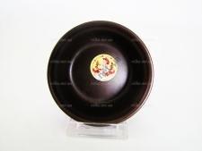 Салатник шоколад  С d 11 cm h 5 cm