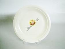 Тарелка мелкая  кремовая   №10,5   26,7  см.