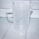 Стакан мерный пластмассовый с ручкой 200 ml