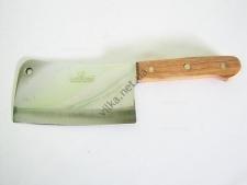 Нож секач с деревянной ручкой 35,5 см.
