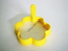 Форма силиконовая для яичницы  Цветочек  10 х 8,5 см.