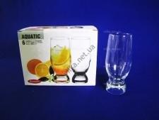 Набор стаканов для коктейля Акватик  6 х 270 гр.