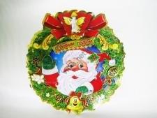 Композиция картонная Дед Мороз