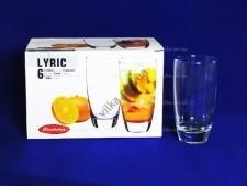Набор стаканов для воды  Лирик  6 х 300 гр.
