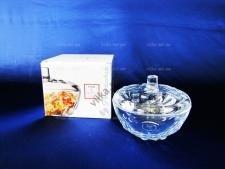 Сахарница стеклянная Перла 97236 - d 13 cm h 10 cm