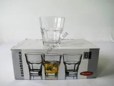 Набор стаканов для виски  Касабланка  6 х 269 гр.