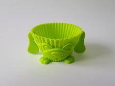 Форма силиконовая Кекс собачка - д. 7 см. выс. 3,5 см.