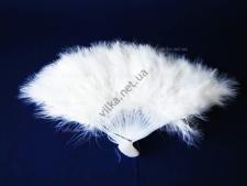 Веер перьевой 29 см