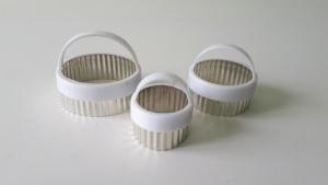 Набор колец для гарнира из 3-х (7,5/6/4,5 см.)
