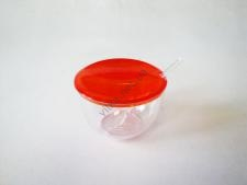 Сахарница пластмассовая SAGLIK-001 h 6,5 cm d 10 cm