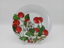 Блюдо №10,5  Вишня в цвету   7736 (24шт)
