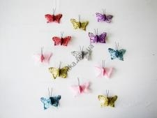 Бабочка на магните 6 см (24 шт. в уп.)