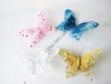Бабочка 25 см. на прищепке
