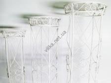 Набор свадебных подставок из 3-х