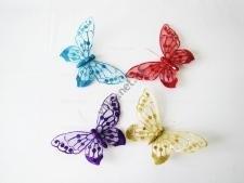 Бабочка на магните 20 см (12 шт. в уп.)