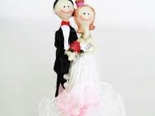 Статуэтка свадебная 14712 - 13 см.