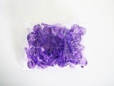 Кристалл пластмассовый сиреневый 14726 - 7 см.