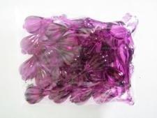 Кристалл пластмассовый бирюзовый бабочка 3 х 2,5 см.