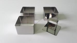 Форма для гарнира в наборе из 3-х 6 х 6 см.