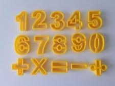 Набор кондитерский пластмассовый  Цифры