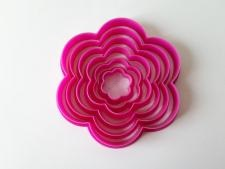 Форма пластмассовая для печенья Цветочек