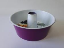Форма с керамическим покрытием для кекса d 26 cm; h 9 cm.