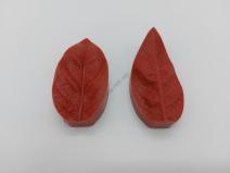 Вайнер кондитерский Лист липы - 7 х 3,5 см.