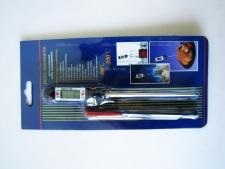 Градусник для мяса от t 50-300, L 18cm