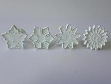 Плунжер кондитерский пластмассовый  из 4-х Цветы