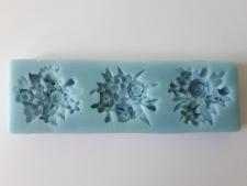 Молд кондитерский Цветы 5 cm х 16 cm