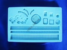 Молд кондитерский силиконовый Оборка 13 х 20 cm