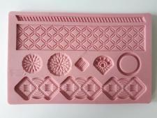 Молд кондитерский силиконовый Орнамент 12,5 х 19,5 cm
