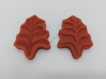 Вайнер кондитерский силиконовый  Лист дуба  8,5 х 5 см.