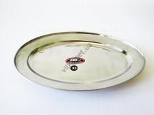 Блюдо овальное нержавейка L 35 cm w 23 cm