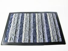 Коврик ткань+резина 40 х 60 см.