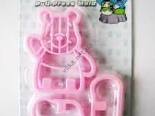 Трафарет кондитерский пластмассовый Медведь