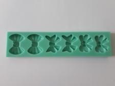 Молд кондитерский силиконовый Бантик  9 х 10,5