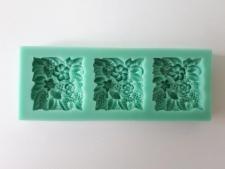 Молд кондитерский силиконовый Цветы 8,9 х 8,4 см