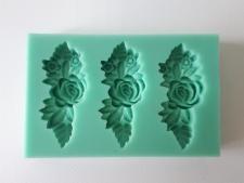 Молд кондитерский силиконовый Цветы 9 cm.