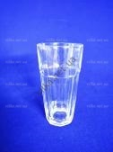 Стакан стеклянный для коктейля  8 х 14,5 cм.