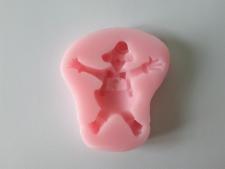 Молд силиконовый Клоун 7,5 х 7 см.